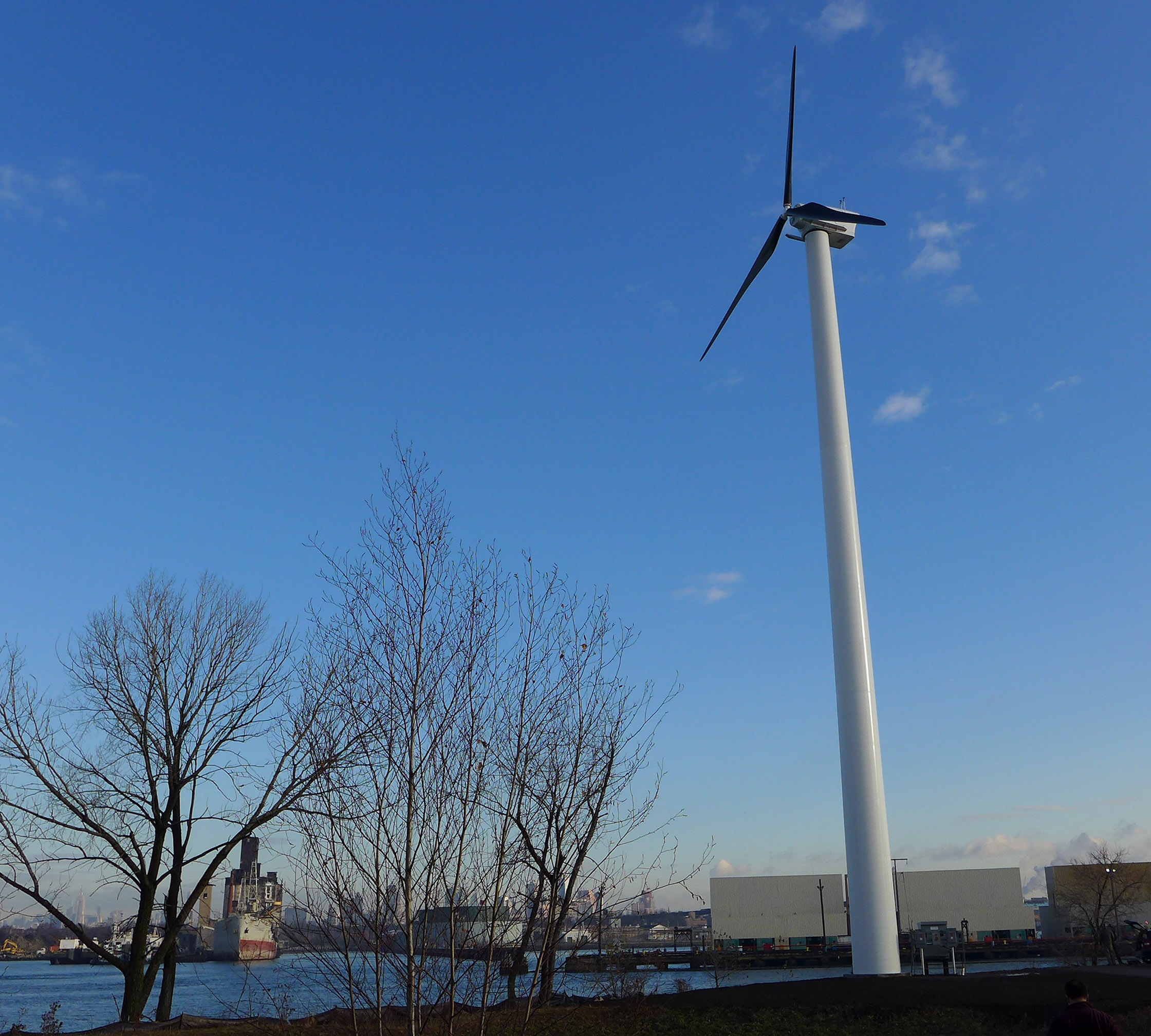 First Commercial Scale Wind Turbine Erected In New York