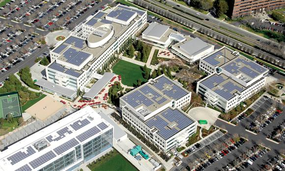 eBay uses local renewable energy microgrid
