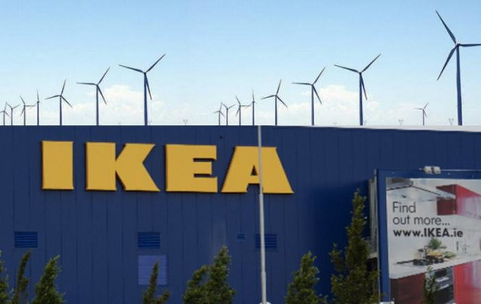 IKEA wind farm 100 percent renewables